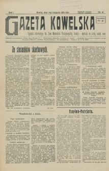 Gazeta Kowelska : tygodnik informacyjny dla Ziem Wschodnich Rzeczypospolitej Polskiej. R. 1, no 16 (1925)