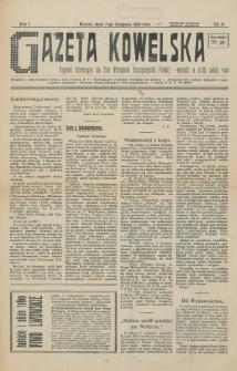 Gazeta Kowelska : tygodnik informacyjny dla Ziem Wschodnich Rzeczypospolitej Polskiej. R. 1, no 17 (1925)
