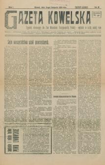 Gazeta Kowelska : tygodnik informacyjny dla Ziem Wschodnich Rzeczypospolitej Polskiej. R. 1, no 18 (1925)