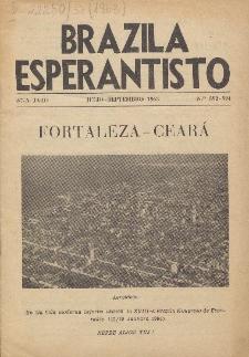 """Brazila Esperantisto : oficiala organo de """"Brazila Ligo Esperantista"""", Jaro 57, no. 592/594 (1963)"""