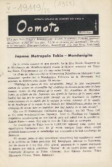 Oomoto. Jaro 25, n. 273/274 (1963)