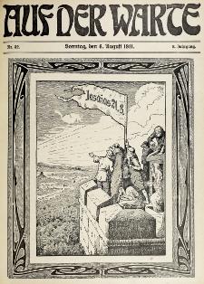 Die Warte. Jg. 8, nr 32 (1911)