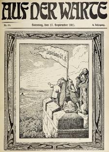 Die Warte. Jg. 8, nr 38 (1911)