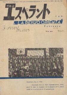 La Revuo Orienta.Jaro 34a, No 2 (1953)