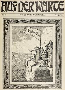 Die Warte. Jg. 8, nr 52 (1911)