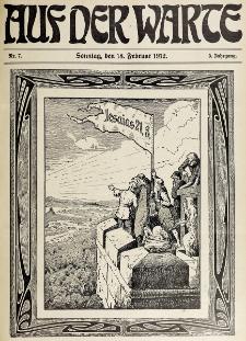 Die Warte. Jg. 9, nr 7 (1912)