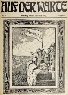 Die Warte. Jg. 9, nr 8 (1912)