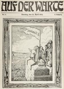 Die Warte. Jg. 9, nr 16 (1912)