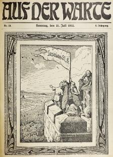 Die Warte. Jg. 9, nr 29 (1912)