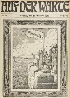 Die Warte. Jg. 9, nr 52 (1912)