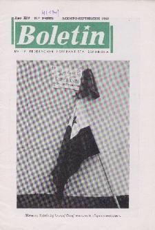 Boletín de la Federación Esperantista Española.Anno 14, n. 4 (1962)