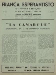 Franca Esperantisto.No 164 (1957)