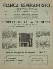 Franca Esperantisto.No 170 (1957)