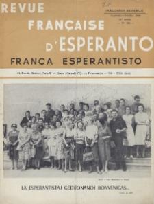 Franca Esperantisto.An. 28, No 193 (1960)