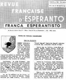 Franca Esperantisto.Jaro 30a, No 206 (1962)