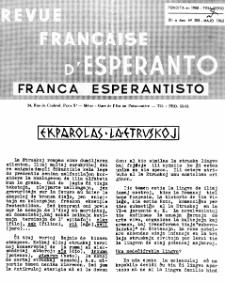 Franca Esperantisto.Jaro 30a, No 208 (1962)