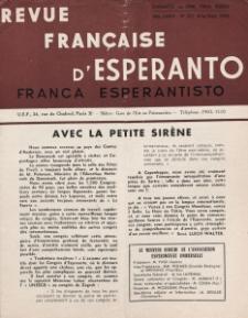 Franca Esperantisto.Jaro 30a, No 211 (1962)
