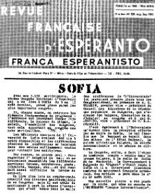 Franca Esperantisto.Jaro 31a, No 220 (1963)