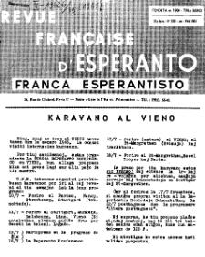 Franca Esperantisto.Jaro 33a, No 230 (1965)