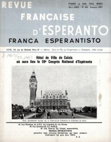 Franca Esperantisto.Jaro 34a, No 241 (1967)