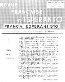Franca Esperantisto.Jaro 34a, No 242 (1967)