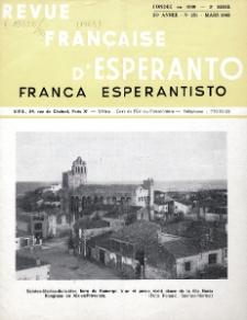 Franca Esperantisto.An. 36, No 251 (1968)