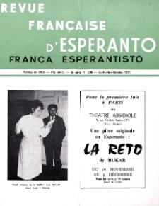 Franca Esperantisto.An. 39, No 268 (1971)