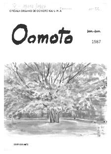Oomoto. (Jan./Jun. 1987)