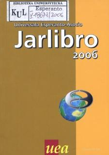 Oficiala Jarlibro / Universala Esperanto Asocio. 2006