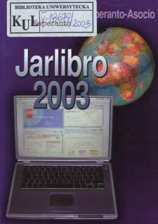 Oficiala Jarlibro / Universala Esperanto Asocio. 2003