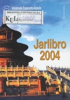 Oficiala Jarlibro / Universala Esperanto Asocio. 2004