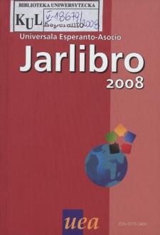 Oficiala Jarlibro / Universala Esperanto Asocio. 2008
