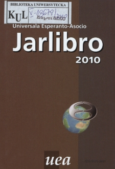 Oficiala Jarlibro / Universala Esperanto Asocio. 2010