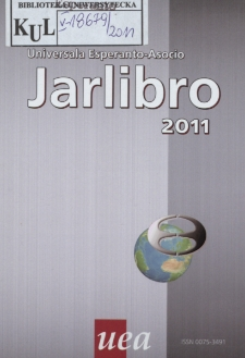 Oficiala Jarlibro / Universala Esperanto Asocio. 2011