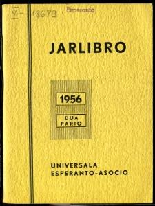 Oficiala Jarlibro / Universala Esperanto Asocio. 1956 (Dua Parto)