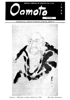 Oomoto. Jaro 44, n. 337/338 (1968)