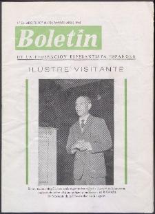 Boletín de la Federación Esperantista Española. Ep. 2, A. 4, n. 18 (1966)