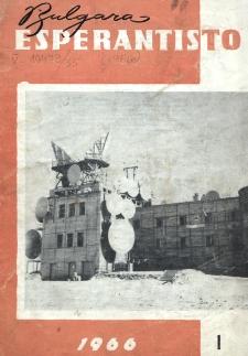 Bulgara Esperantisto.Jaro 35, n. 1 (1966)