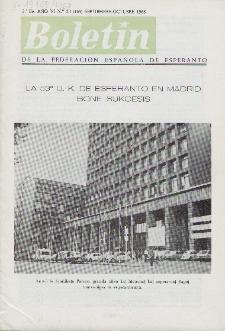Boletín de la Federación Esperantista Española. Ep. 2, A. 6, n. 169 (1968)