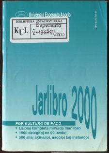 Oficiala Jarlibro / Universala Esperanto Asocio. 2000