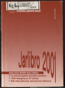 Oficiala Jarlibro / Universala Esperanto Asocio. 2001
