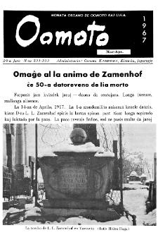 Oomoto. Jaro 29, n. 321/322 (1967)