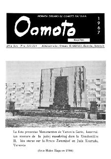 Oomoto. Jaro 29, n. 323/324 (1967)