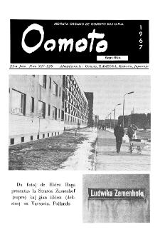 Oomoto. Jaro 29, n. 327/328 (1967)