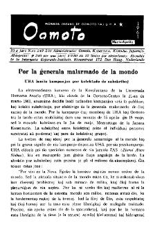 Oomoto. Jaro 23, n. 249/250 (1961)