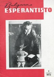 Bulgara Esperantisto. Jaro 41, n. 4 (1972)
