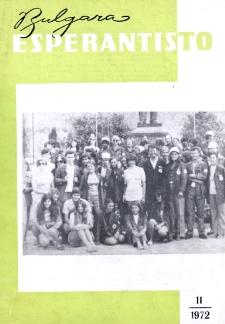 Bulgara Esperantisto. Jaro 41, n. 11 (1972)