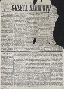 Gazeta Narodowa. R. 16 (1877), nr 1 (3 stycznia)