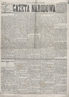 Gazeta Narodowa. R. 16 (1877), nr 2 (4 stycznia)