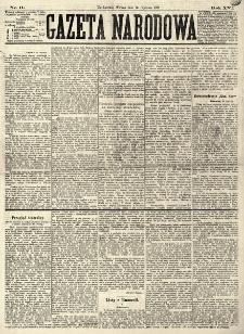 Gazeta Narodowa. R. 16 (1877), nr 11 (16 stycznia)